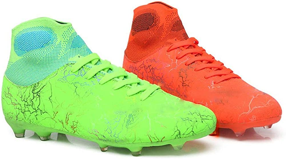 WELRUNG 100% quality warranty! Unisex's Cheap mail order sales AG Cleats Training Non-Slip Long Athletic Studs