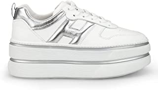 Luxury Fashion | Hogan Women HXW4490BS00I6W0351 White Leather Sneakers | Spring-summer 20