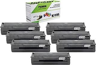 PayForLess Toner Cartridge MLT-D104S 104S Black 7PK Replacement for Samsung ML-1665 1860 1865W 1660 1661 1660K 1665K 1661K 1670 1676 1677 1675 SCX-3200 3217 3210 3205W