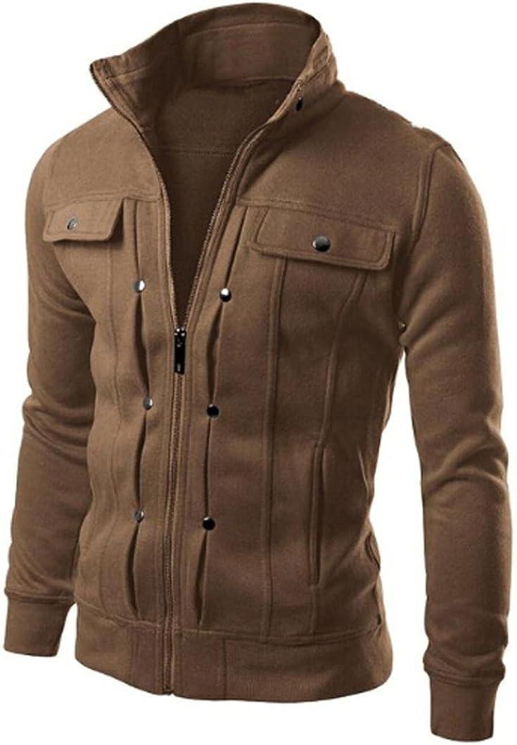 Fashion Mens Slim Topics on TV List price Designed Lapel Coat Tops Cardigan Jacket