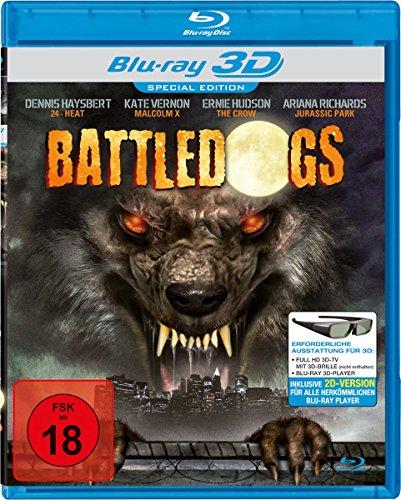 Battledogs - Special Edition - Full HD 3D-TV mit 3D-Brille (nicht enthalten) (inkl. 2D-Version) [3D Blu-ray]