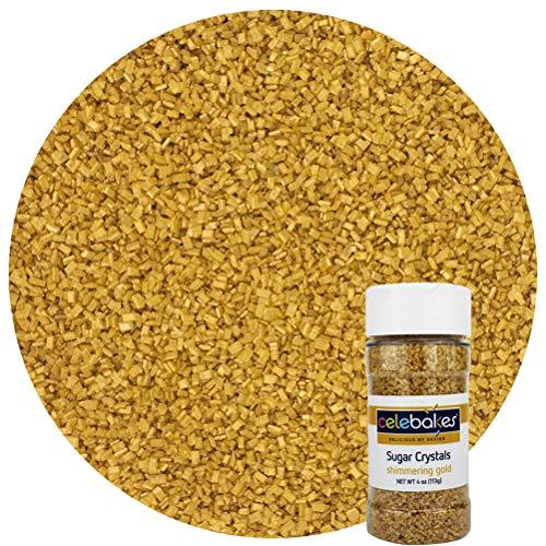 Celebakes Decorating Sprinkles, Gold