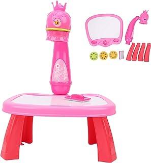 Dessin projecteur jouet, peinture électrique dessin table projecteur enfant en bas âge jouet éducatif aider les enfants Tr...