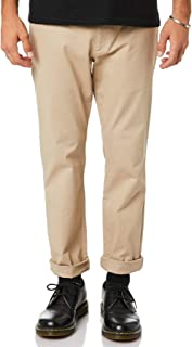 Thrills Men's Base Mens Chino Pant Cotton Fitted Elastane Brown