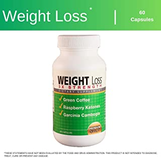 Dr. Newtons Naturals Weight Loss Trio, Appetite Suppressant, Energy Booster, Fat Burner with Green Coffee Bean, Garcinia Cambogia, and Raspberry Ketones - 60 Caps