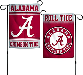 crimson tide garden flag