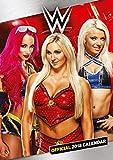 World Wrestling Divas Official 2018 Calendar - A3 Poster Format -
