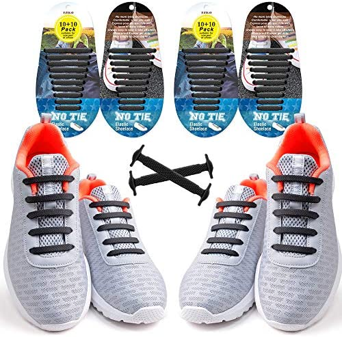 EZIGO No Tie Shoelaces for Kids and Adults Tieless Elastic Rubber Kids Laces product image