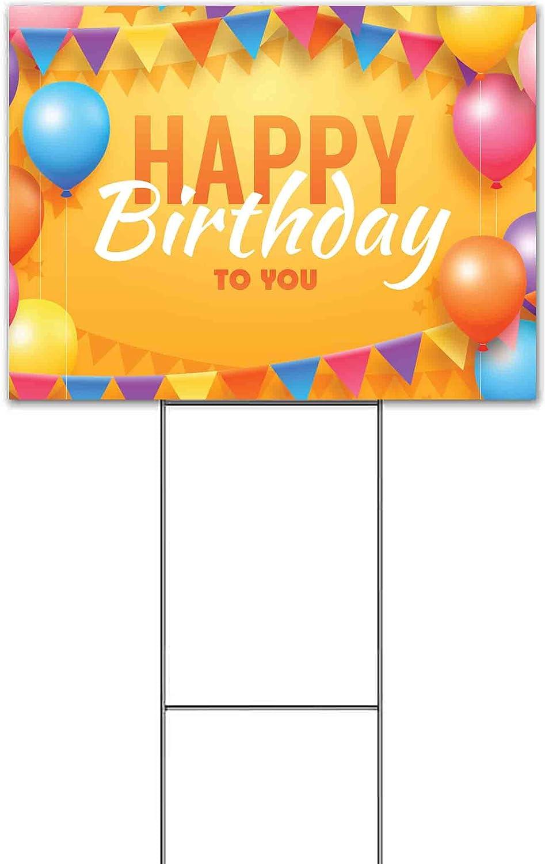 Happy Birthday to You Balloons 18