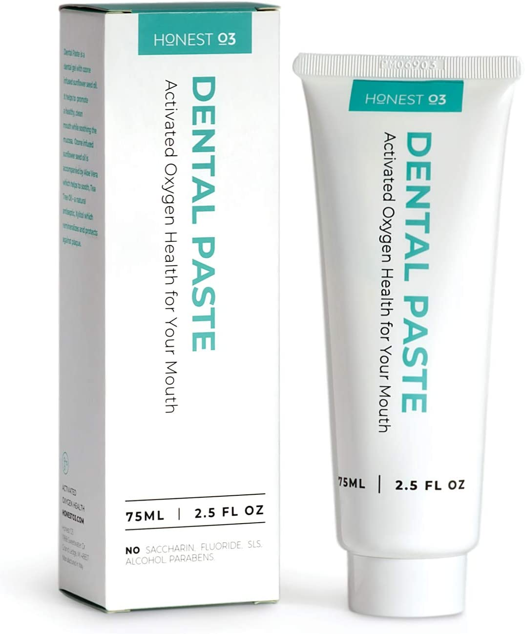 Honest O3 Dental Paste Ozone trend rank Flouride-Fre Infused Toothpaste Oil Great interest