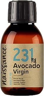 Naissance Huile d'Avocat Vierge (n° 231) - 100ml - 100% pure, naturelle, non-raffinée et pressée à froid - végan, non test...