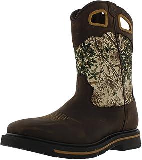 حذاء عمل Lacrosse 532066 Tallgrass للرجال، بني، 12 W US
