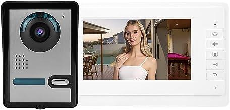 7inch LCD Video Door Phone Doorbell Intercom Camera Monitor Home Security System,110-240V (US)