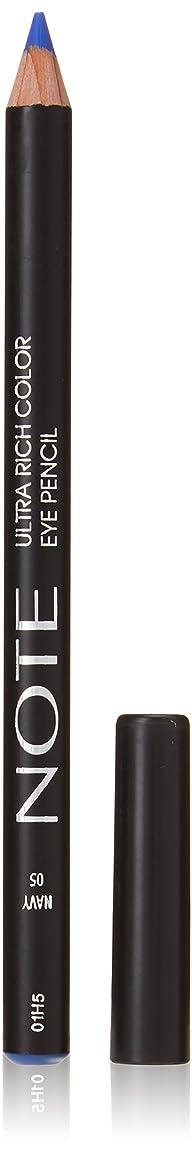システムジーンズ追い払うNOTE Cosmetics ウルトラリッチ色のアイペンシル、0.04オンス 05海軍 第05