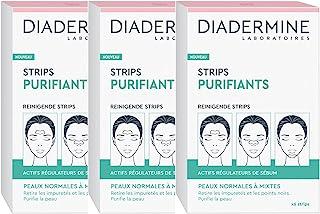 Diadermine Reinigingsstrips tegen mee-eters, 3 x 6 stuks