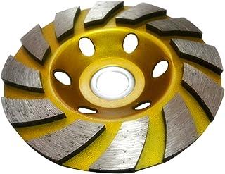 Disco de corte de diamante de 100 mm para herramientas de mampostería, rueda de diamante de 1200 rmp (amarillo)