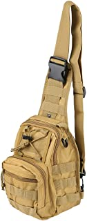 LBlanco Tactical Shoulder Sling Bag Small Outdoor Chest Pack for Men Traveling, Trekking, Camping, Rover Sling Daypack