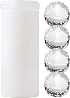 【丸氷用の保管容器】 伸縮して最大4個収納 直径6cmまで対応 ポーラーアイスチューブ Polar Ice Tube