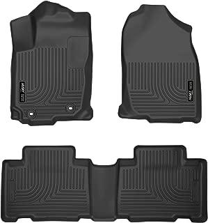 Husky Liners Fits 2013-18 Toyota RAV4 Weatherbeater Front & 2nd Seat Floor Mats