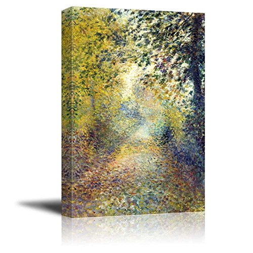 wall26 - in The Woods by Pierre-Auguste Renoir - Canvas Print Wall Art Famous Painting Reproduction - 24' x 36'