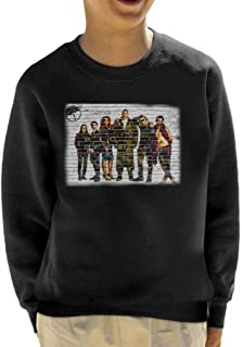 Umbrella Academy Character Graffiti Kid's Sweatshirt