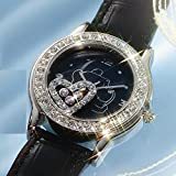 ディズニー ハッピークリスタルプーさん腕時計 ブラック