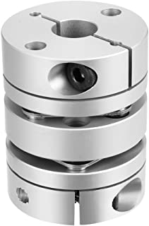 uxcell 8mmx10mm Clamp Tight Motor Shaft 2 Diaphragm Coupling Coupler