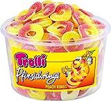 Trolli - Pfirsichringe - Fruchtgummi & Schaumzucker - 150 Stück