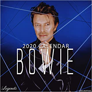 David Bowie 2020 12x12 Square Music Wall Calendar with Free Poster