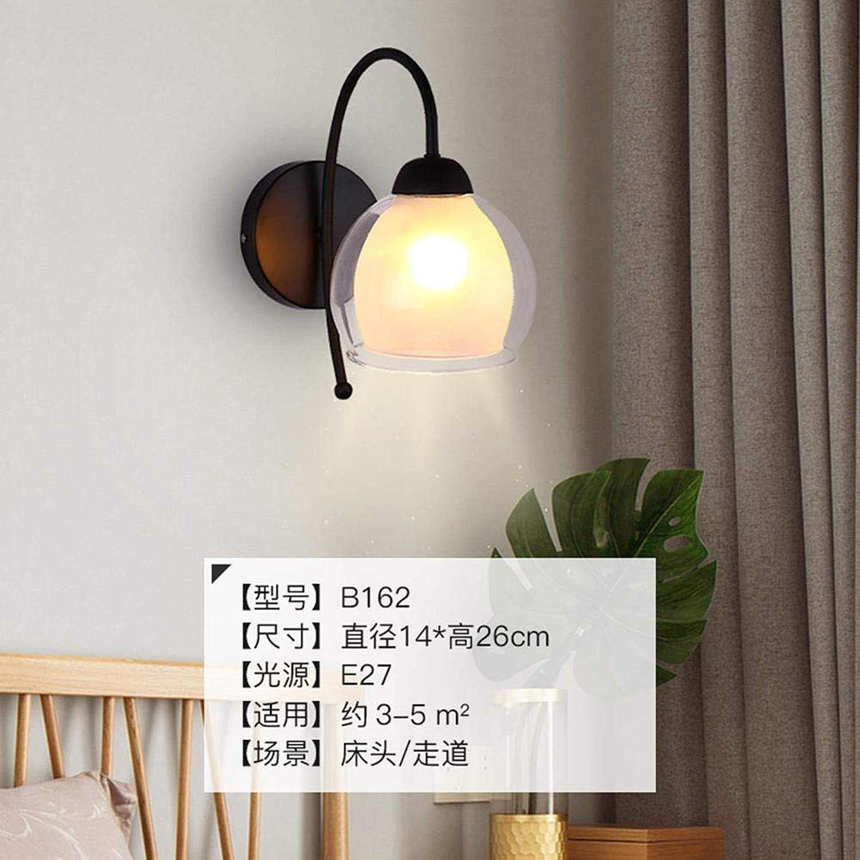 3D Nachtlicht Lampenkreatives Nachttischlampe Warme Romantische Wandlampe Kreative Schlafzimmer Flur Lampe Ganglichter @ B162-Warmwei