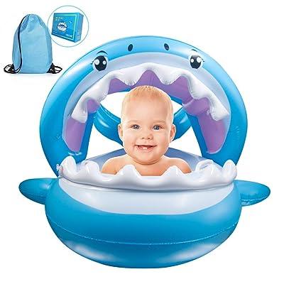 Inflatable Shark Baby Floatie