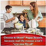 Scott Choose-A-Sheet Paper Towels, White, Big Roll, 4 Packs of 6 Rolls, 24 Rolls Total