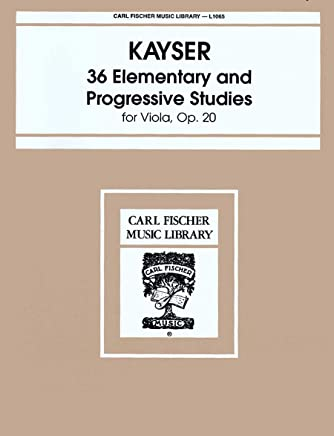 36 Elementary and Progressive Studies Viola Method