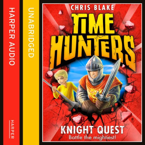 Knight Quest audiobook cover art
