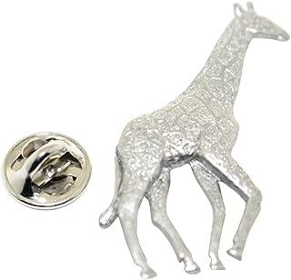 Giraffe Pin ~ Antiqued Pewter ~ Lapel Pin