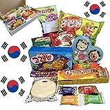 Süßigkeiten Box aus Korea | Kennenlernbox mit 14 beliebten Süßigkeiten KOREA | Geschenkidee für Weihnachten und Geburtstage