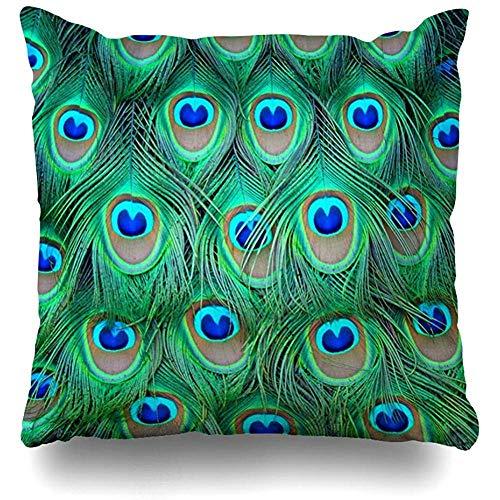 Fundas de almohada de diseño de árbol de coral en blanco sobre cristal de mar azul al aire libre, tamaño cuadrado 45 x 45 cm, fundas de almohada para el hogar