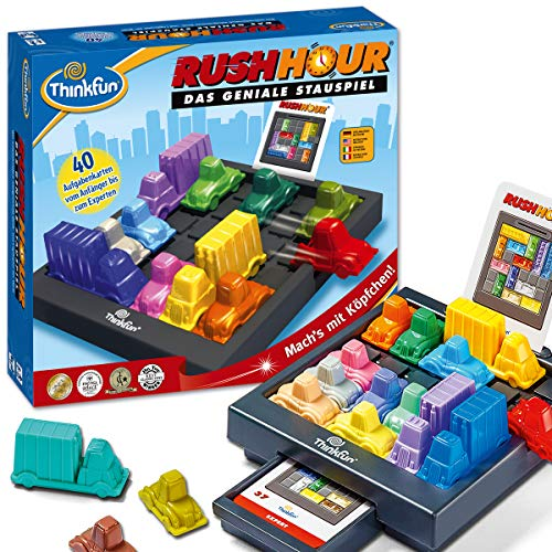 Ravensburger 76301 ThinkFun Rush Hour Juego de Smart Game , color/modelo surtido [Version...