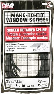 Prime-Line P 7519 Screen Retainer Spline, .140-in, 25-ft, Black