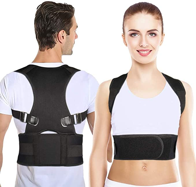 Buy Volbit Back Posture Corrector, Full Back Brace Shoulder Posture  Correction for Upper and Lower Back Support to Improve Slouch, Back Pain,  Thoracic Kyphosis for Teenagers - Small Size (Waist 24''-31'') Online