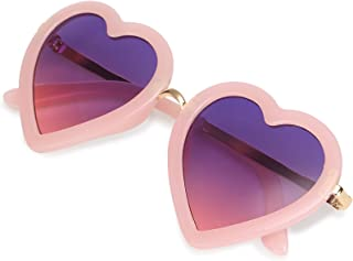 CMK Trendy Kids Kids Polarized Heart Shaped Sunglasses...