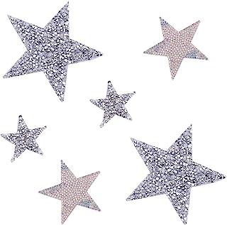 Forma Mista Pezzi di Strass acrilici Irregolari con Fori per Abiti da Sera Costume Abbigliamento Abito da Sposa Decorazione PandaHall 50 Pezzi Cucire su Strass Specchio Colore Chiaro