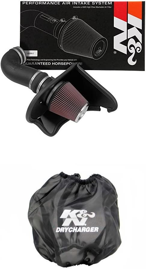 KN 63-3092 Kansas City Mall Performance Max 60% OFF Air Intake Black System with Filter