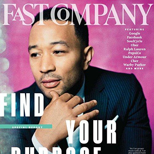 Audible Fast Company, February 2017 cover art