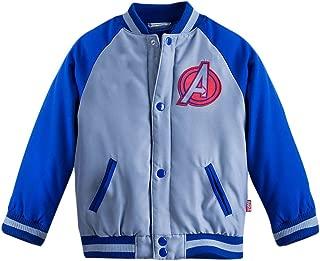 Store Avengers Varsity Jacket Boys XXS 3 3T Iron Man Captain America Blue
