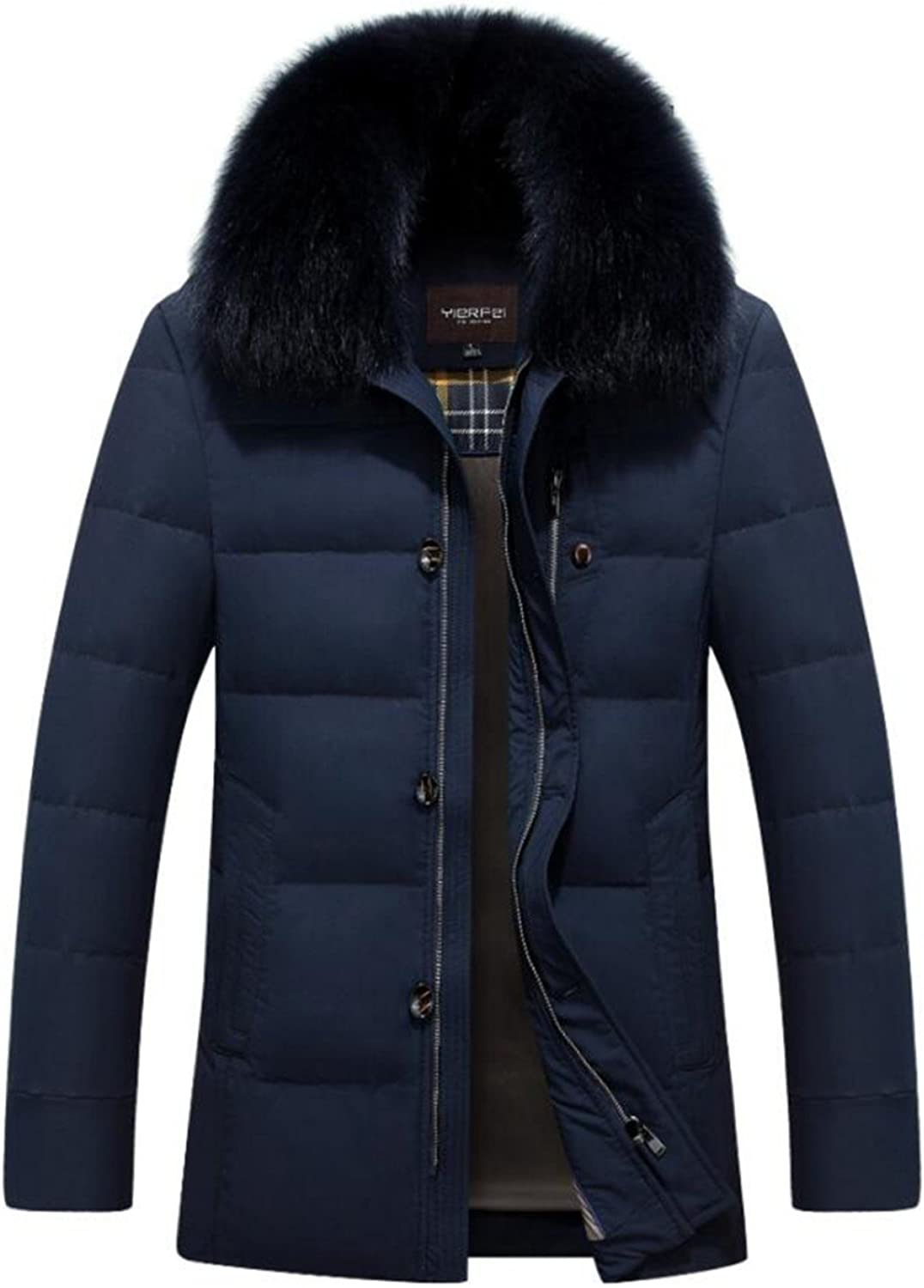 LINYI Men New Padded Jacket Down Jacket