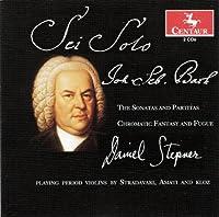 Bach: Sonatas and Partitas; Chromatic Fantasy And Fugue by Daniel Stepner (2013-06-25)