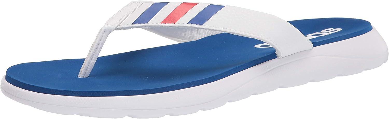 adidas セール価格 Men's Comfort 推奨 Flip Sandal Flop Slide