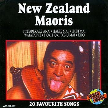 New Zealand Maoris - 20 Favourite Songs