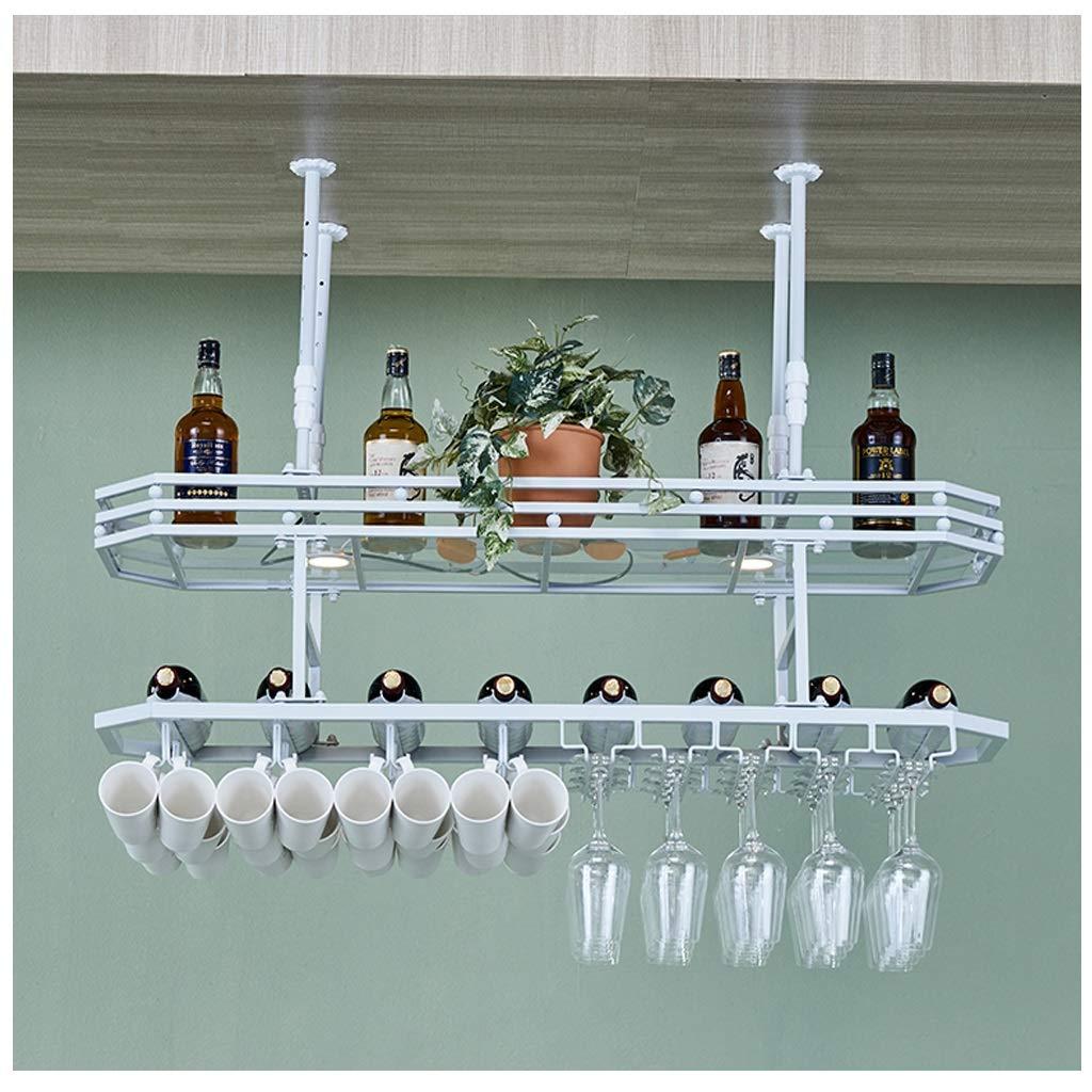 Botellero De Vino En El Techo Botella De Vino Portavasos ...